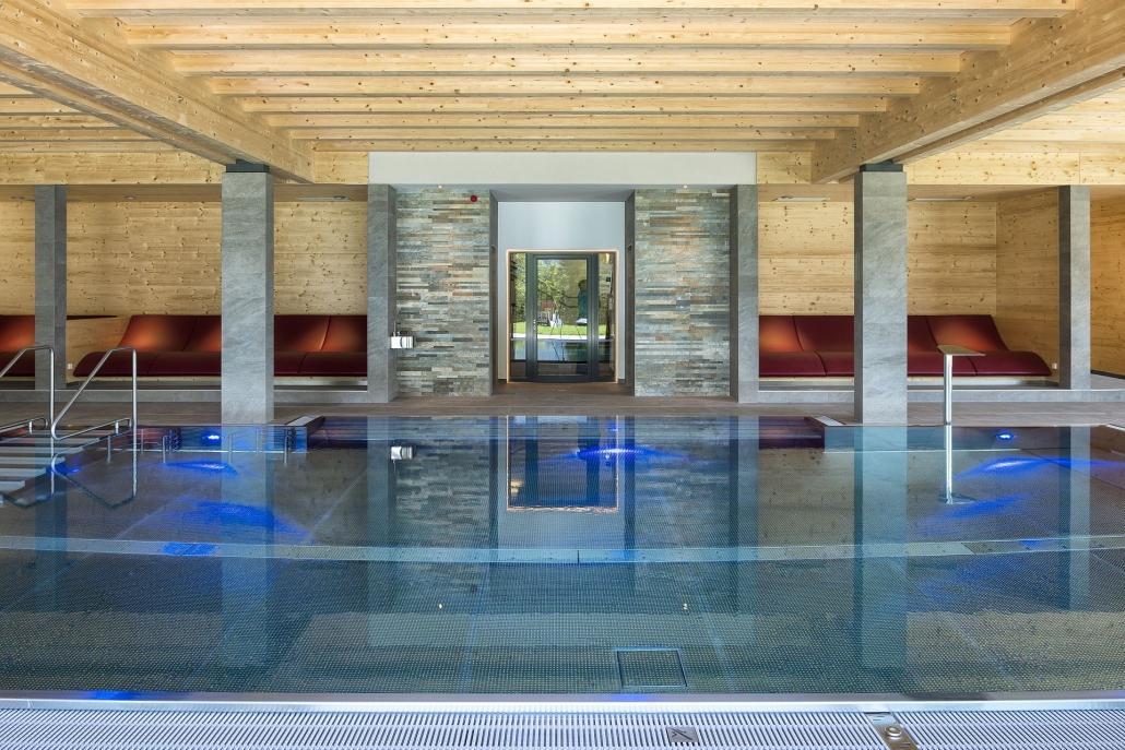 Kinderhotel Ramsi indoor swimming pool