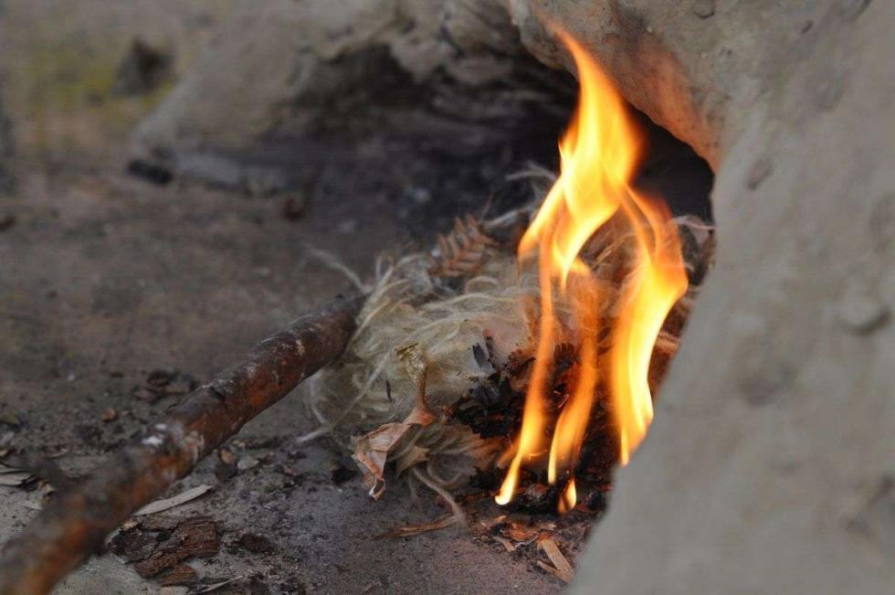 Lehmofen Fladenbrot – gewürzt mit natürlichen Kräutern aus der Ramsi Naturerlebniswelt