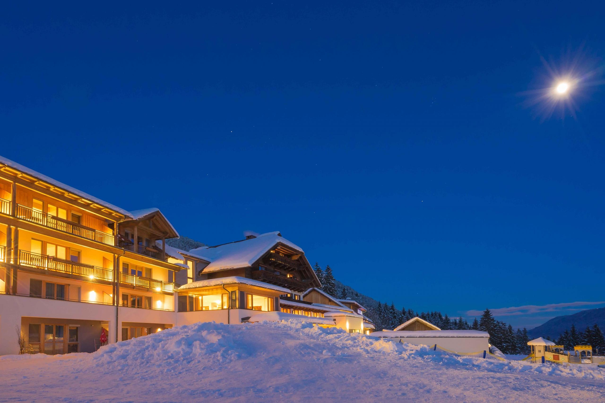 Magical family ski vacation on the sunny side of the Alps