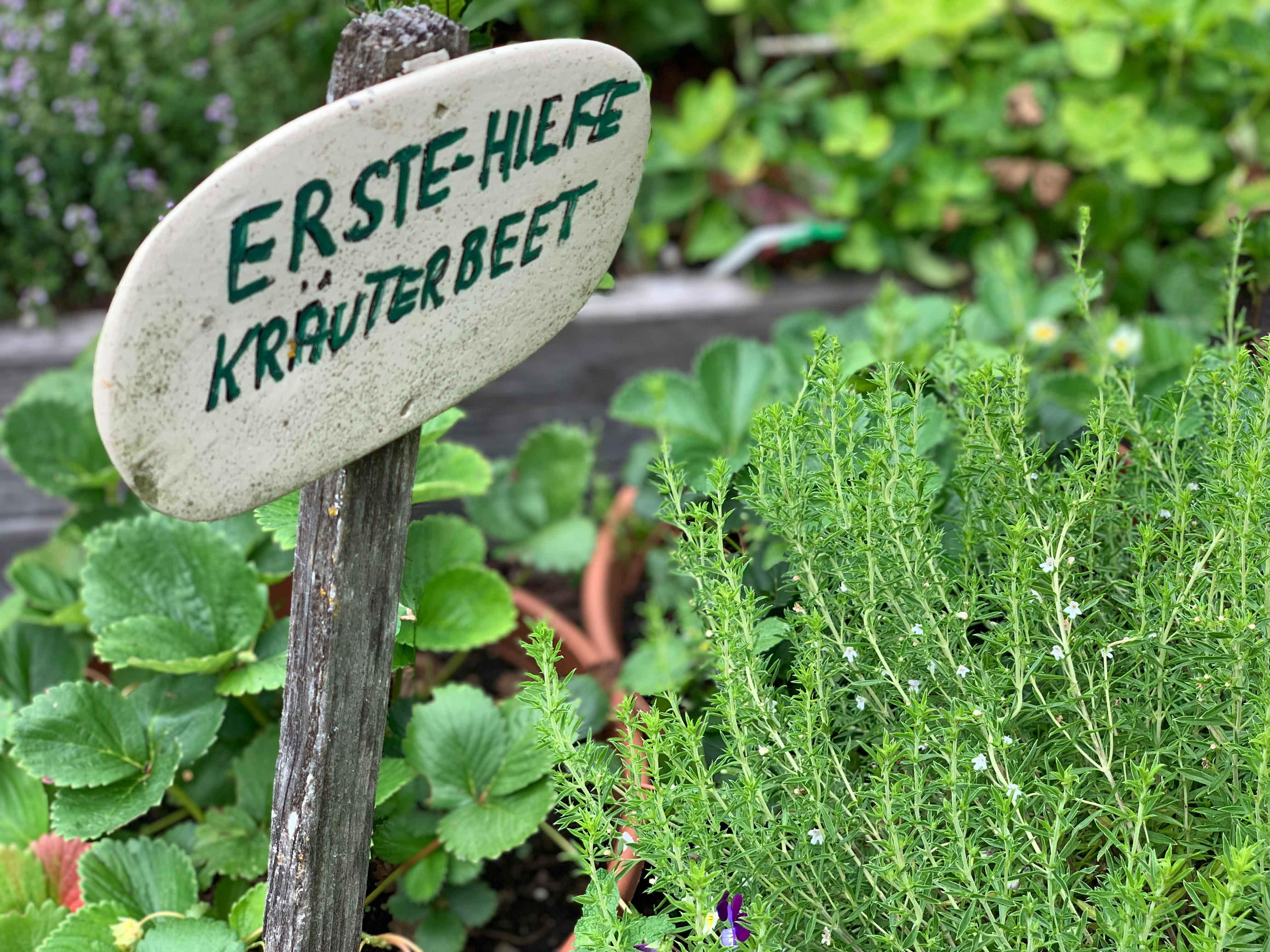 Oma Ramsis Kräutergarten - Kinderhotel Ramsi