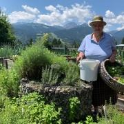 When the soul needs a holiday, go to the garden! - Grandma Ramsis herb world