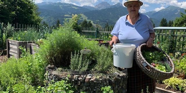 Oma Ramsis Kräuterwelt - Wenn die Seele Urlaub braucht, geh in den Garten!