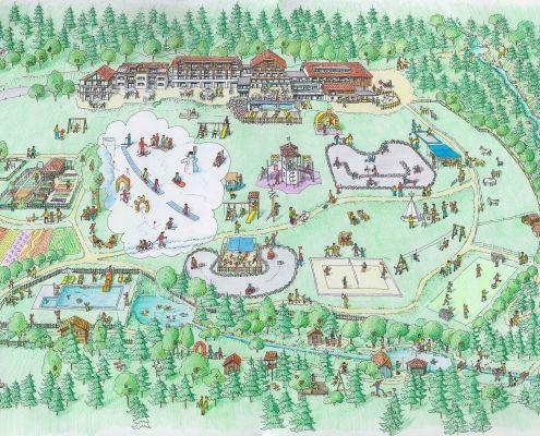 Sitemap Kinderhotel Ramsi
