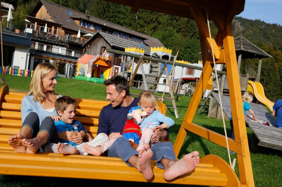 Lieblingsplätze zum Glücklichsein Draußen Kinderhotel Ramsi