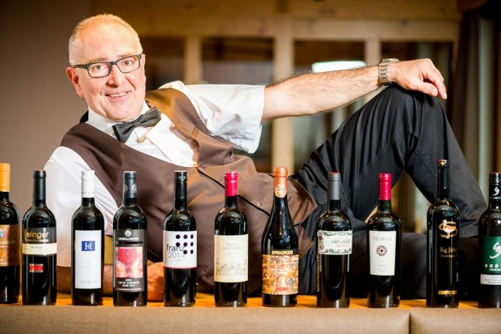 Kinderhotel Ramsi - The Ramsi Team, wine tasting Franz
