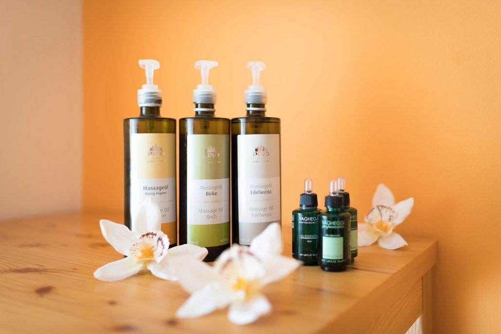 Massagen und Kosmetik