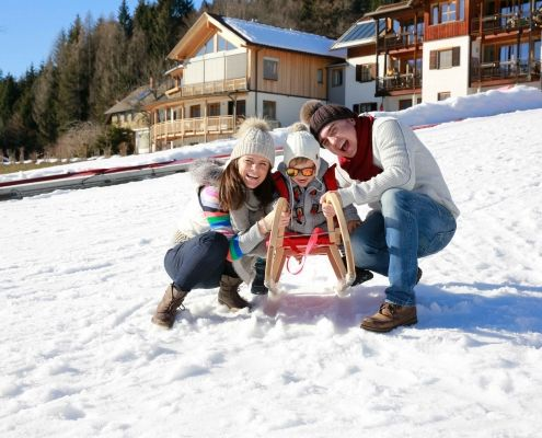 Outdoor Kinderhotel Ramsi, Winter