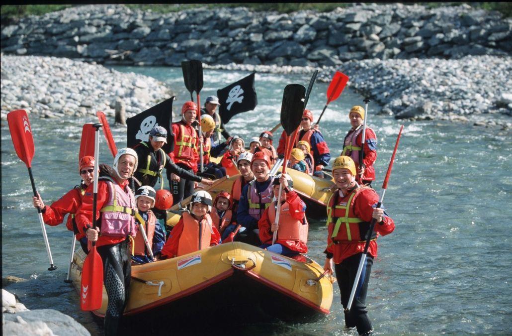 +CARD holiday Browse Kinderhotel Ramsi rafting and canyoning explore