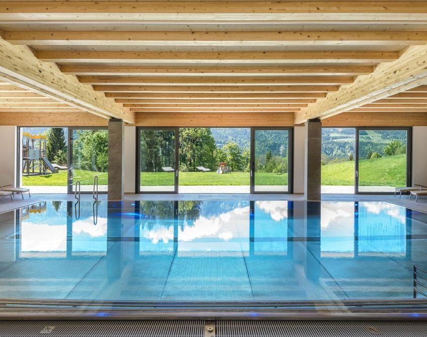 Kinderhotel Ramsi - All-inclusive services, Panoramic indoor pool