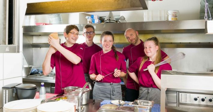 Kinderhotel Ramsi Küche - Das Ramsi Team