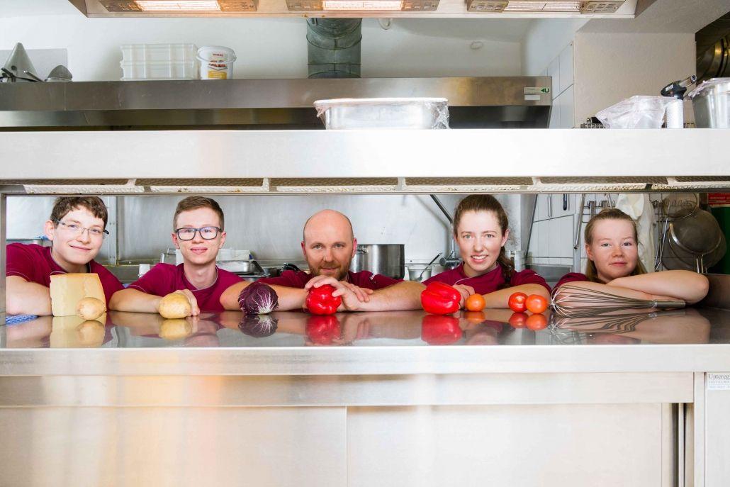 Das Ramsi Team_Küche