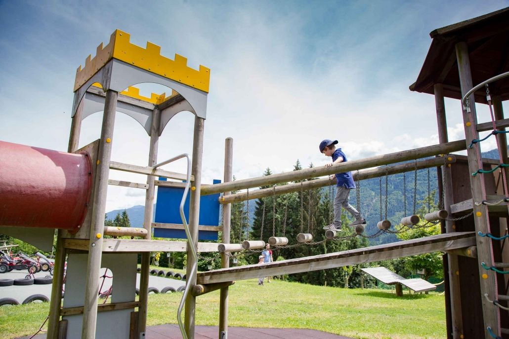 Kinderhotel Ramsi - Play outside, Summer, Sitemap