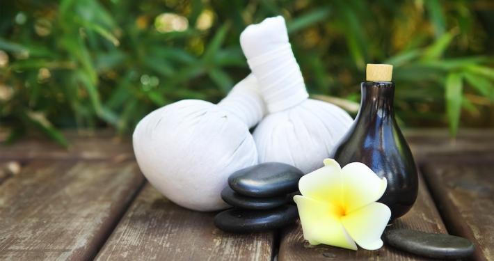 Herbal infusions in the wellness temple - Kinderhotel Ramsi