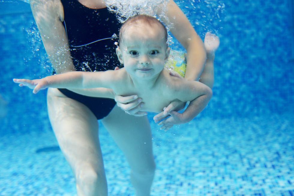 Urlaubspaket Babyglück mit Babyschwimmen - Kinderhotel Ramsi