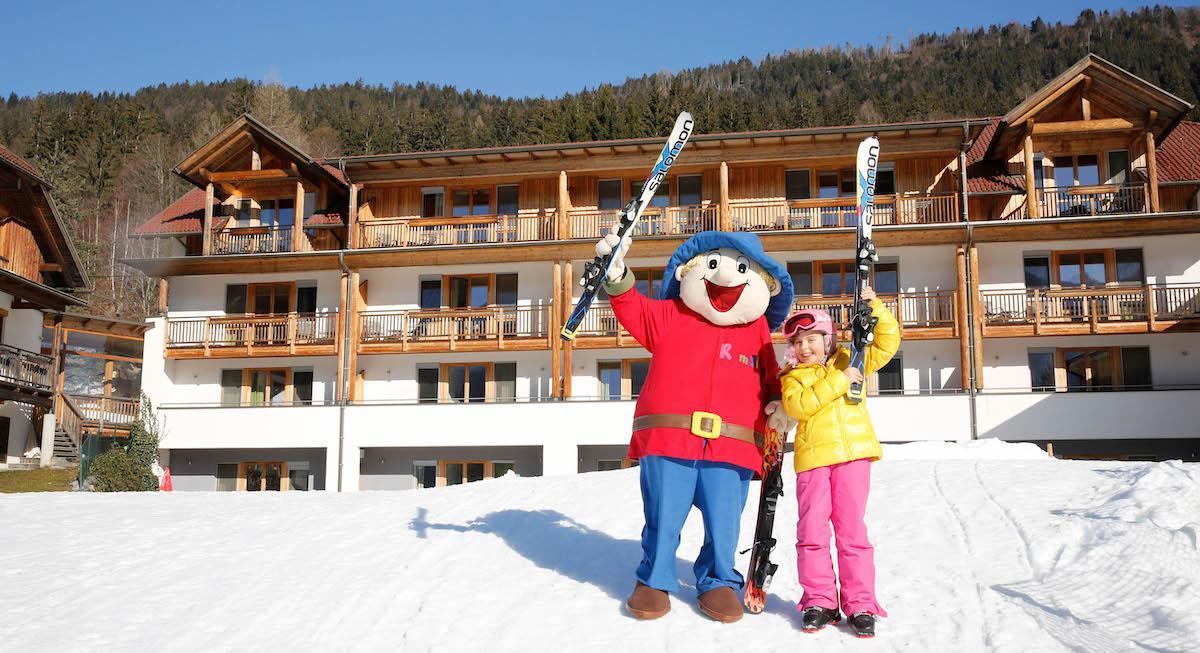 Familienurlaub Kinderhotel Ramsi Skifahren