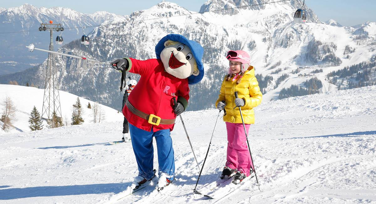 Familienurlaub Kinderhotel Ramsi Skifahren am Nassfeld