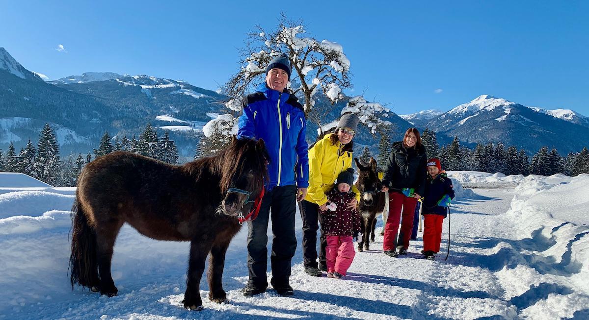 Familienurlaub Kinderhotel Ramsi Tiertrekking